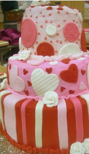 Great Valentine's Day Wedding Cake Ideas 373 x 640 · 31 kB · jpeg