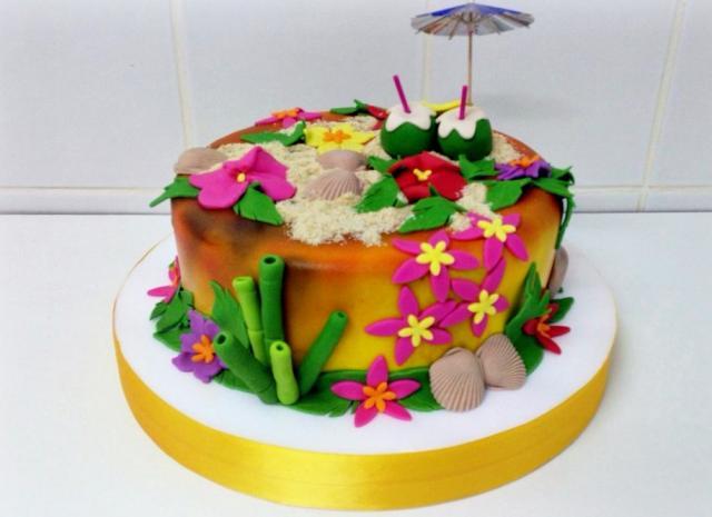 Hawaii Themed Cakes Best 25 Luau Party Cakes Ideas On Pinterest Luau Theme  Party