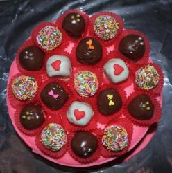 Chocolate cakes for valentine.JPG