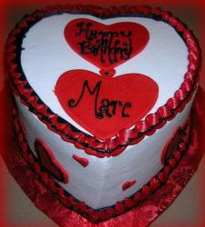 Heart valentines day birthday cake.JPG