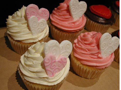 Coloful valentines day cupcakes.JPG