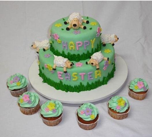 Lamb Easter Cake Jpg