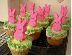 Pink and green easter cake decorating ideas.JPG