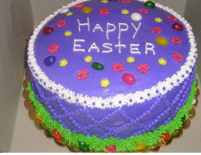 Colorful happy easter cake photos.JPG