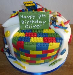 Legos Cakes Pictures