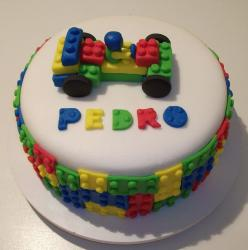 Lego cake molds great for lego party.JPG