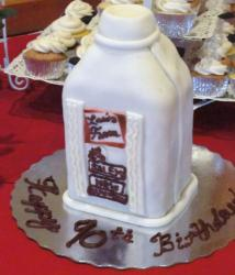 White milk bottle birthday cake.JPG