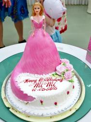 Barbie Doll Princess Birthday Cake.JPG