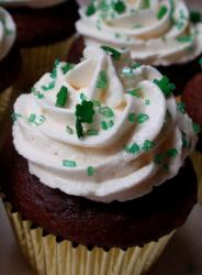 Chocolate St. Patrick's Day cupcakes iamges.JPG