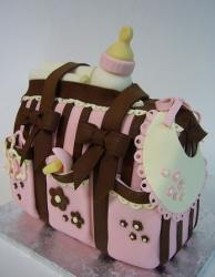 Baby girl diaper baby shower cake.JPG