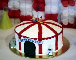 Big Top Circus Tent Cake for 6 year-old.JPG
