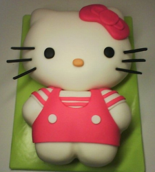 Cute Hello Kitty in pink.PNG
