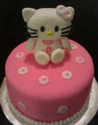 Pink Hello Kitty cake with Hello Kitty cake topper.PNG