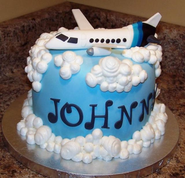 Private Jet Airplane Birthday Cake Jpg 1 Comment