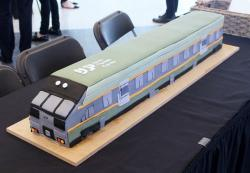 Modern Train Engine Cake.JPG