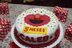 Elmo Birthday Cake for 5 Year-Old.JPG