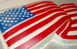 Patriotic & 4th of July Theme Cakes