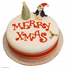 Penguin and Xmas Tree Christmas Cake photos.PNG
