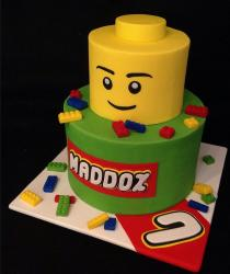 Large lego cake lego figure face pictures.JPG