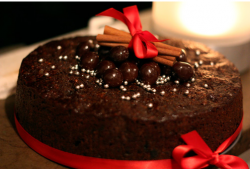 Chocolate christmas fruit cake picture.PNG
