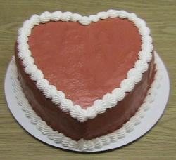 Chocolate heart shaped ice cream cake picture.JPG