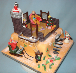 Christmas theme cake photos.PNG