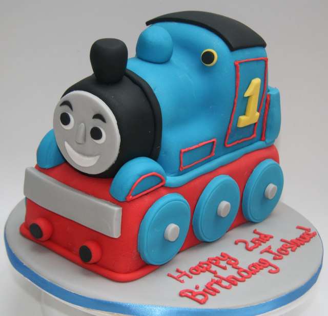 Cool Thomas And Friends Train Cake Shaped For Kids