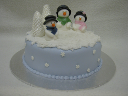 Three snowmen cake for Christmas.PNG
