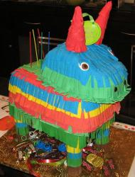 Pinata horse cake filled with candies.JPG