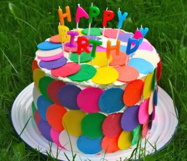 Amazing Colorful Birthday Cakes Photos Jpg Funny Birthday Cards Online Fluifree Goldxyz