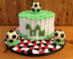 Cool looking soccer birthday cakes pictures.JPG