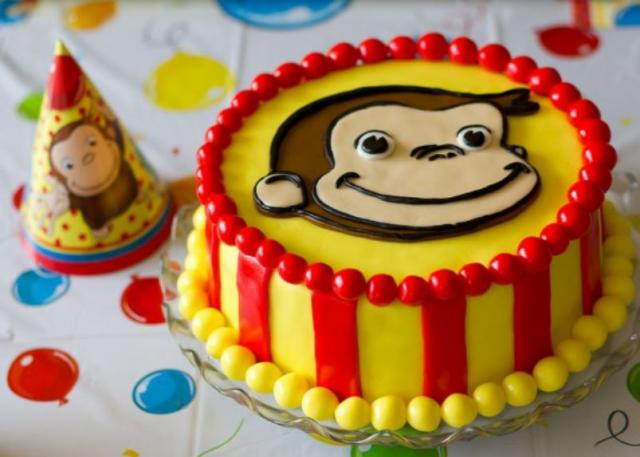 Curious George birthday cake theme.JPG
