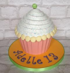 Gaint Cupcake birthday cakes photos.JPG