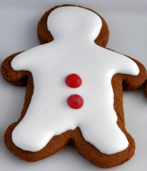 White gingerbread man cookies with frosting.PNG