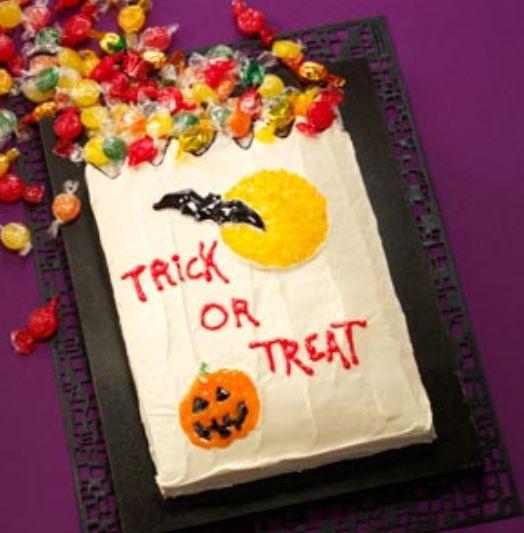Unique Creative Halloween Cakes Photo Of Trick Or Treat