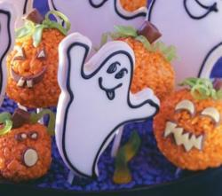 Boo cookies for fun halloween party.JPG