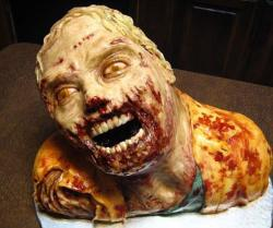 Human sized halloween cakes picture of Walking Dead Zombie cake.JPG