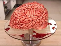 Red velvet brain cake for halloween.JPG