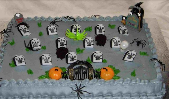 Homemade halloween cakes ideas pictures.JPG