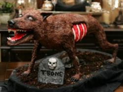Zombie wolf cake picture.JPG