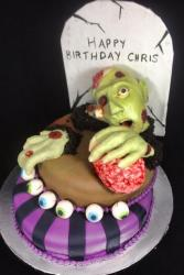 Zombie Birthday Cake picture.JPG