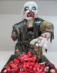 Scary Halloween Zombie Cakes photo.JPG