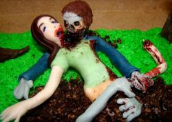 Scary Zombie Birthday Cake pictures.JPG