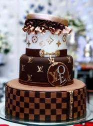 Louis Vuitton Cakes Pictures