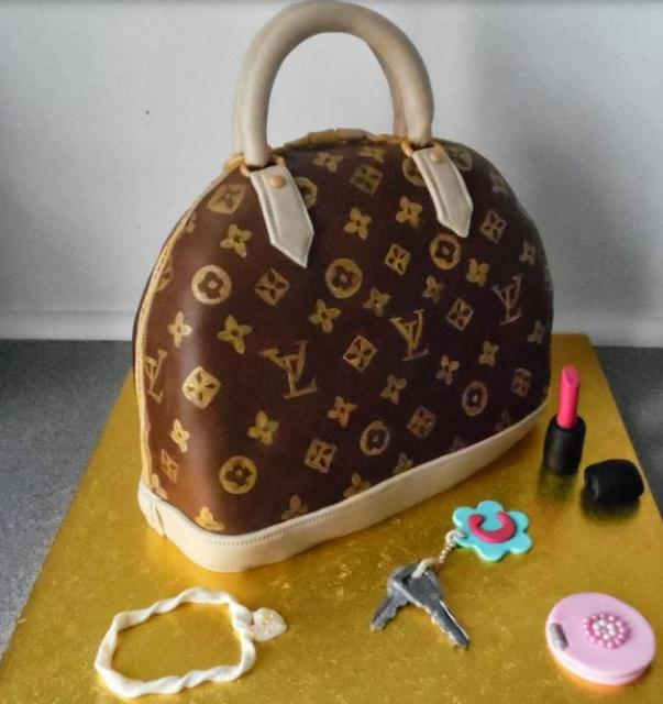 Louis Vuitton Alma purse with Louis Vuitton jewelry and makeup.JPG