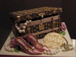 Louis Vuitton jewelry box cake picture.JPG