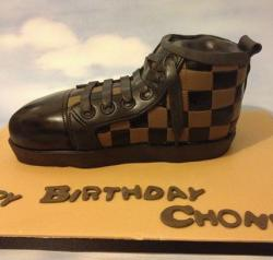 Louis Vuitton sneaker cake picture.JPG