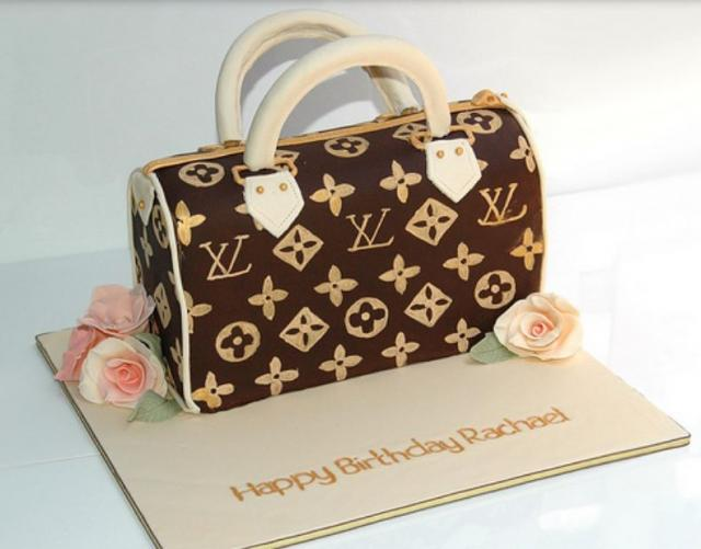 Louis Vuitton speedy purse cake picture.JPG