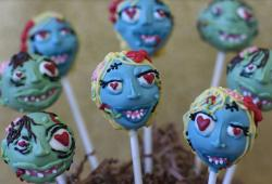 Blue green zombie cake pops picture.JPG