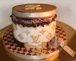 Three toned Louis Vuitton cake images.JPG